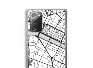 Put a city map on your Galaxy Note 20 / Note 20 5G case