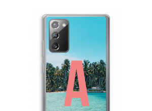 Make your own Galaxy Note 20 / Note 20 5G monogram case