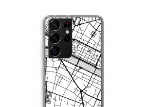 Put a city map on your Galaxy S21 Ultra case